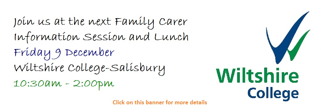 parent carer information session lunch salisbury