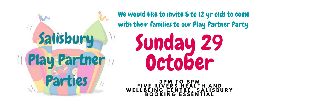 Salisbury Play Partner Party October children learning disabilities