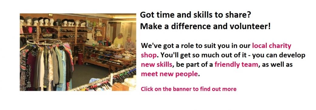 South Wilts Mencap Shop Volunteers Needed in Salisbury