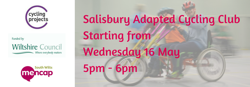 Adapted Cycling Salisbury Learning Disabilities Wiltshire Council