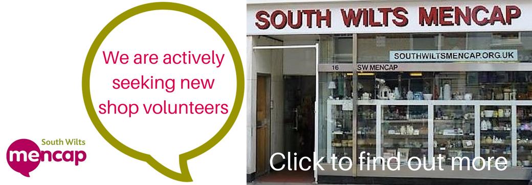 charity shop volunteer salisbury